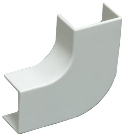 RML Угол плоский стандарт TIA 20/10. Цвет Белый. Ecoplast (ЭКОПЛАСТ). 72301R
