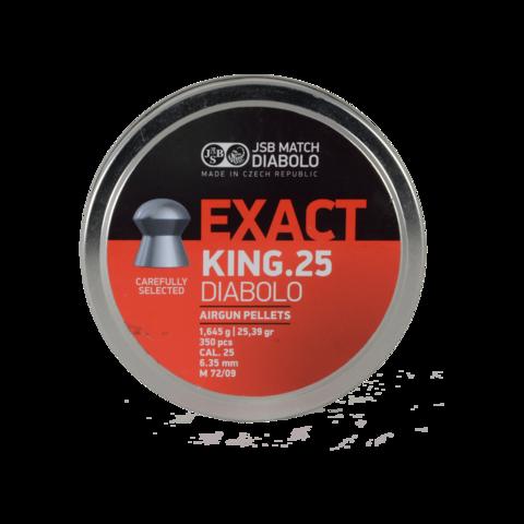 Пульки JSB King 6.35 (1.645г, 350 шт)