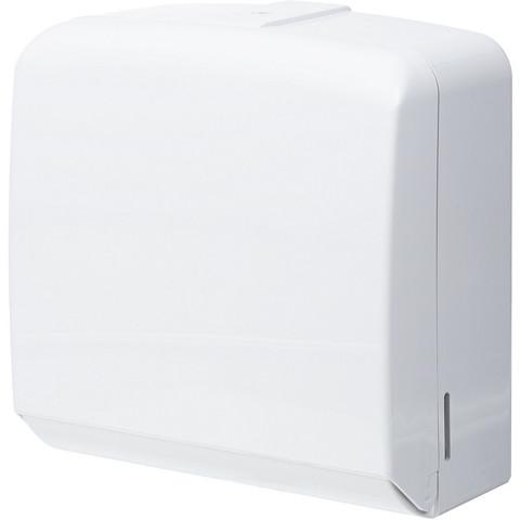 Диспенсер для листовых полотенец Терес FD-528W пластиковый белый