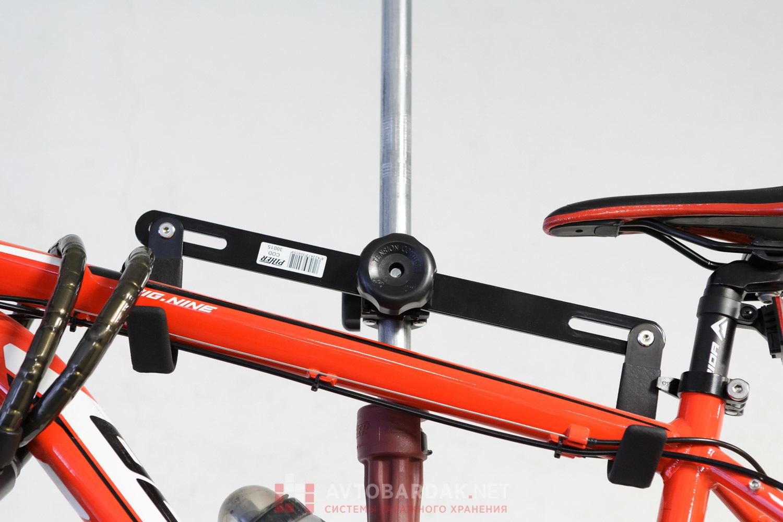Комплект из 2 креплений для велосипедов на телескопической распорке