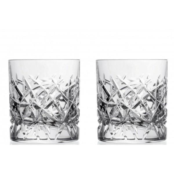 Набор стаканов для виски 290 мл Trama RCR Cristalleria Italiana (2 шт) набор стаканов для виски rcr riflessi bicolour цветные 300 мл 6 шт