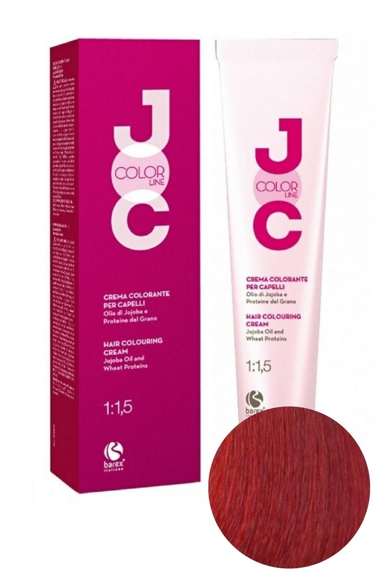 Крем-краска для волос 7.6 блондин красный JOC COLOR, Barex