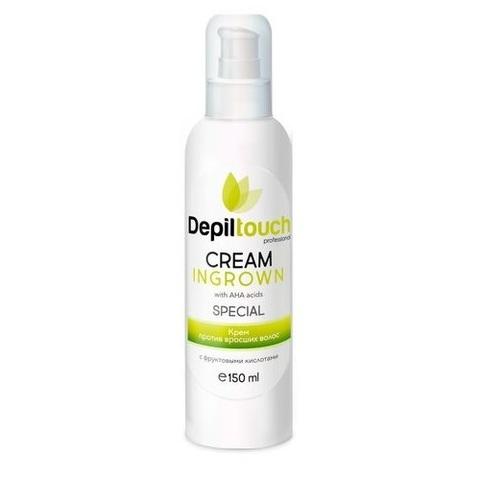 Крем против вросших волос с фруктовыми AHA кислотами Depiltouch  150мл