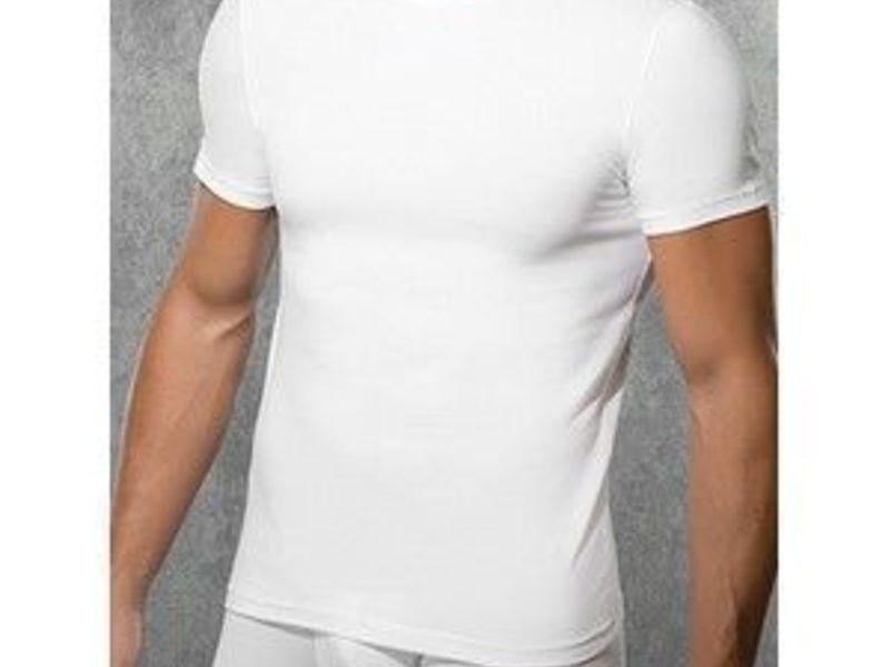 Мужская футболка белая Doreanse 2550 White