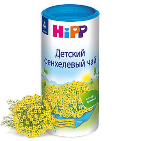 HIPP. Чай гранулированный фенхелевый с 4 мес., 200 г