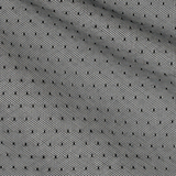 Хлопковая вуаль Sophie Hallette черного цвета