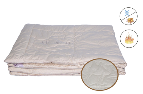 Одеяло Коллекция ГОБИ  верблюжий пух всесезоннее