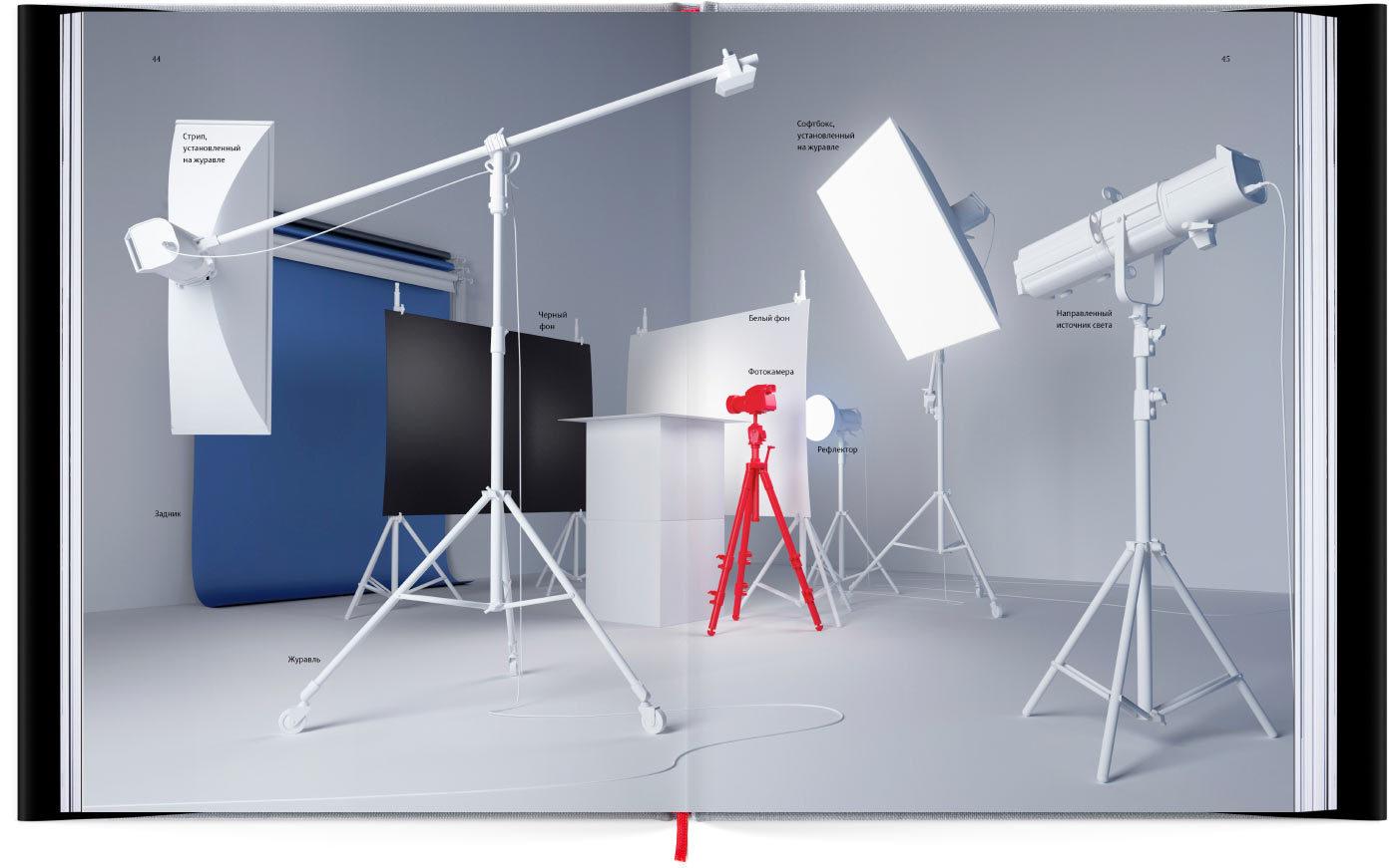 схемы освещения в предметной фотографии этом