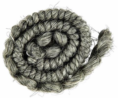 MEHRON Креповые волосы Crepe Hair, Medium Grey (Серые)