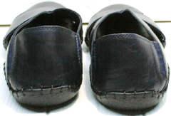 Летние мужские сандали с задником Luciano Bellini 76389 Blue.