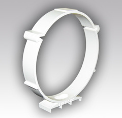 Держатель круглых воздуховодов 150 мм пластиковый