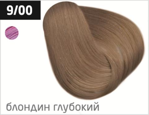OLLIN color 9/00 блондин глубокий 60мл перманентная крем-краска для волос
