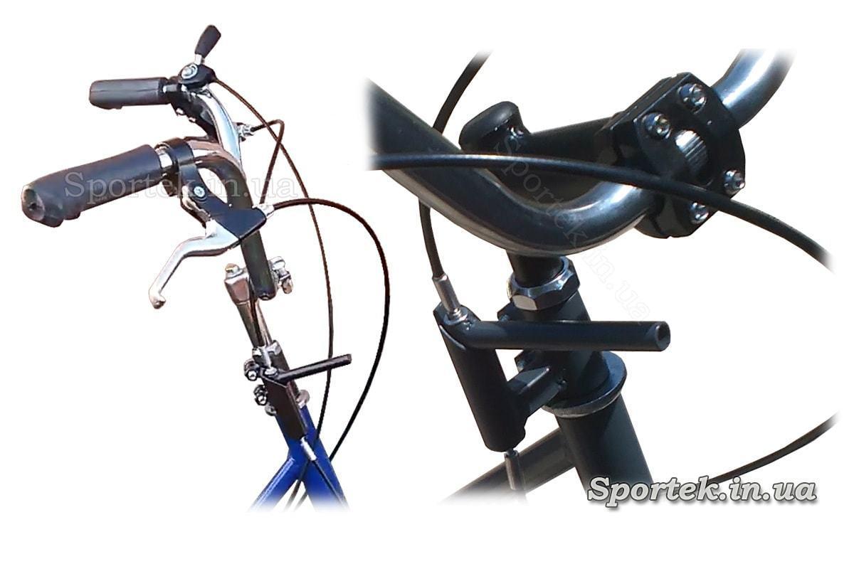 Гальмо стоянки на триколісних велосипедах