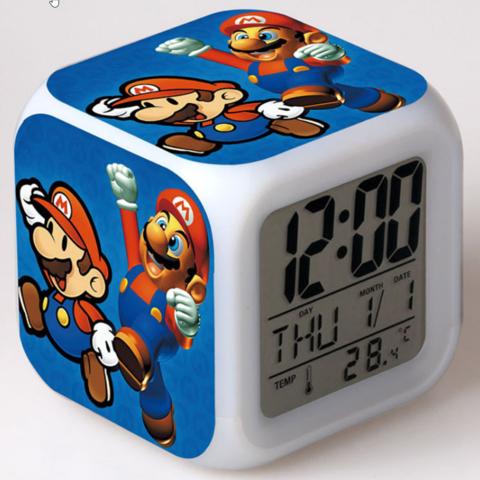 Будильник Led Mario