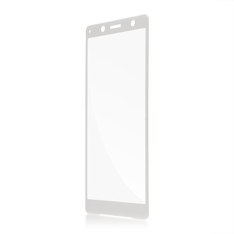 Защитное стекло для Xperia XZ2 Compact серебристого цвета