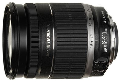 Canon EF-S 18-200mm f/3.5-5.6 IS (JAPAN)