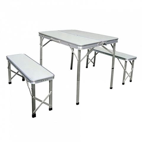 Набор: стол складной с 2-мя стульями НТО6-0041/3