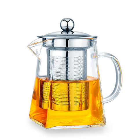 Набор S-20. Чайник квадратный 750 мл и Пиалы 150 мл (4 шт.)