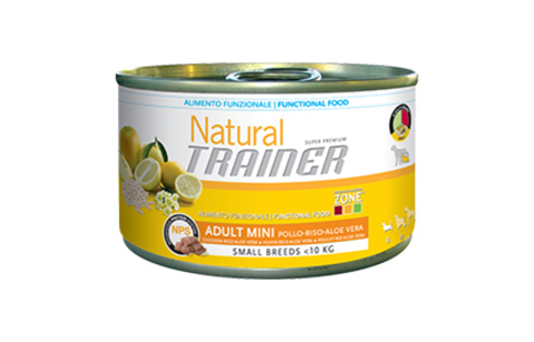 Консервы Trainer Natural Mini Adult Chicken, Rice and Aloe Vera
