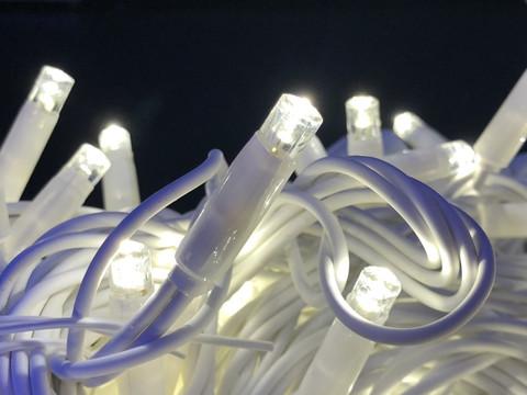 Штора-гірлянда Вулична 120 LED CX 3 на 1 м. синя