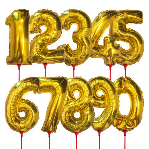 Цифры (35 см) на палочке
