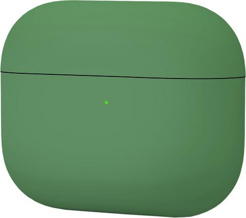 Силиконовый чехол для Apple AirPods Pro (Зеленый) Midnight Green