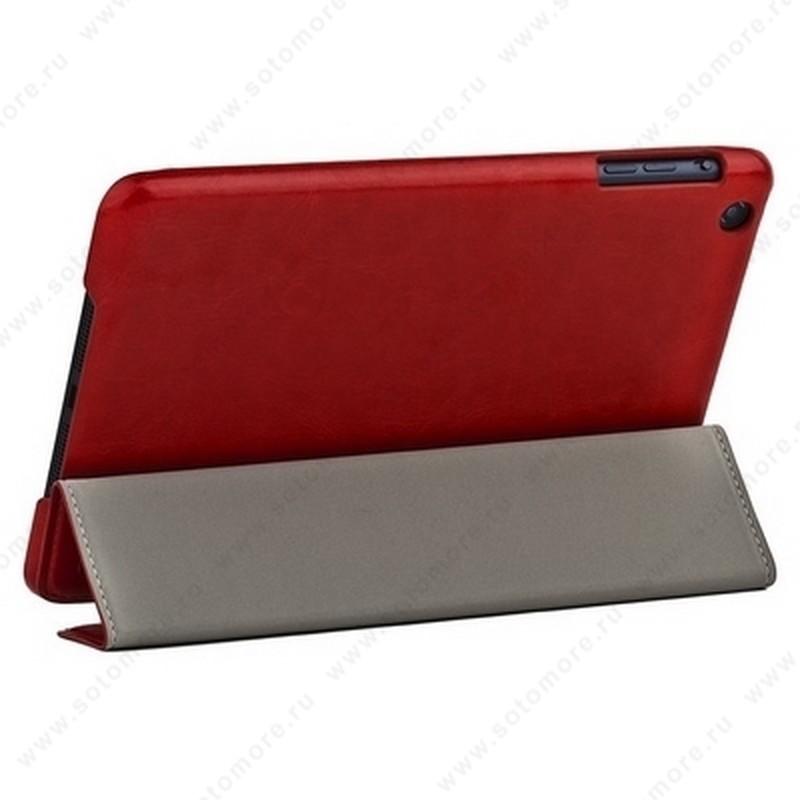Чехол-книжка HOCO для Apple iPad Mini 3/ 2/ 1 - - HOCO Crystal Pu leather case Red