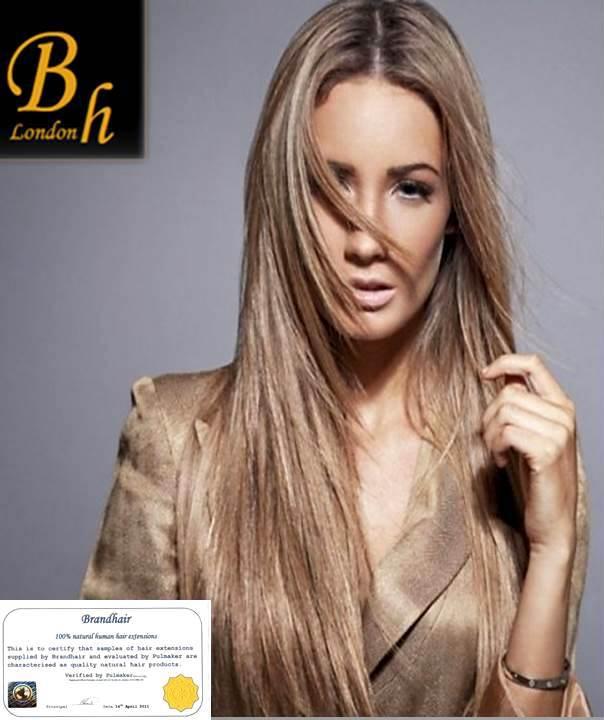 Волосы на заколках цвет #19A-Бежевый средний блонд