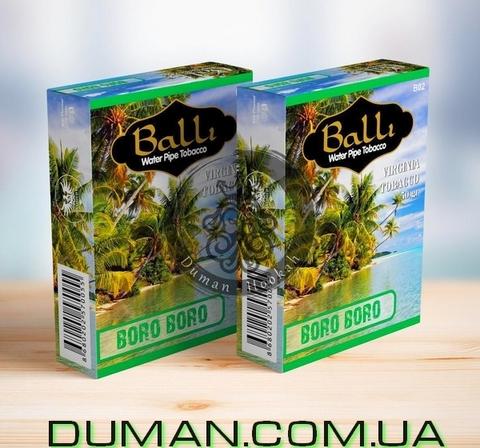 Табак Balli BORA BORA (Балли Боро боро - Кокос, Ананас, Грейпфрут, Ром, Мята)