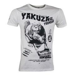 Футболка белая Yakuza Premium 2209