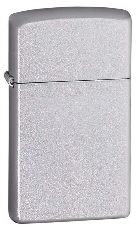 Зажигалка ZIPPO Slim® с покрытием Satin Chrome™ ZP-1605