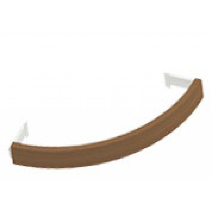 Фото - Ограждения и коврики: Деревянное ограждение SAWO TH-GUARD-W4-CNR-D для печи угловой установки TOWER TH4 и TH5 (кедр) ограждения и коврики коврик деревянный на пол sawo 595 d cnr угловой