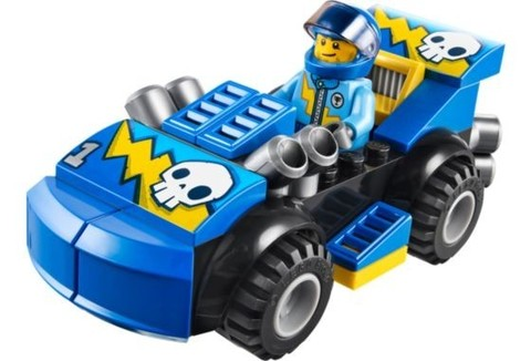 LEGO Juniors: Ралли на гоночных автомобилях 10673 — Race Car Rally — Лего Джуниорс Подростки