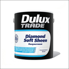 Краска для стен и потолка Dulux Trade Diamond Soft Sheen BM (прозрачный)