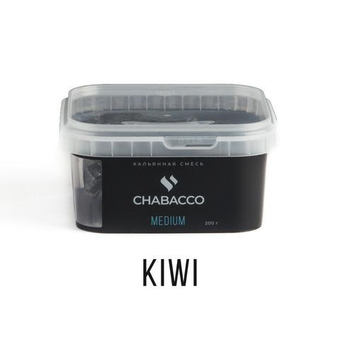 Кальянная смесь Chabacco Medium 200 г - Kiwi (Киви)