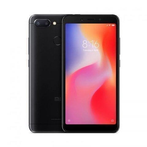 Смартфон Xiaomi Redmi 6 3GB/64GB  Black (Черный)