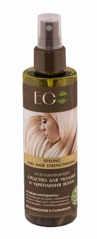 EO Laboratorie Разглаживающее средство для укладки и укрепления волос 200мл