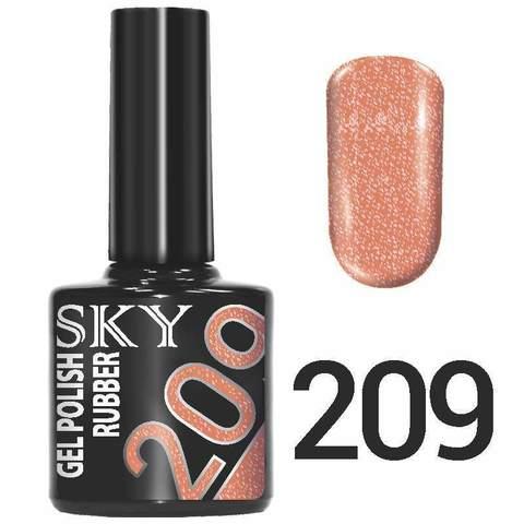 Sky Гель-лак трёхфазный тон №209 10мл