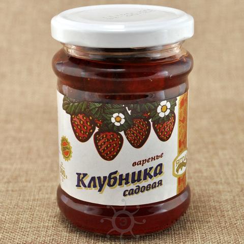 Варенье из клубники Ягода сибирская, 300г