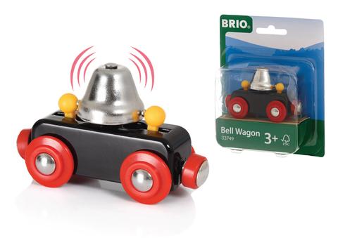 BRIO Вагончик с сигнальным колокольчиком