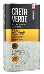 Оливковое масло CRETA VERDE с острова Крит PDO 1 л металл