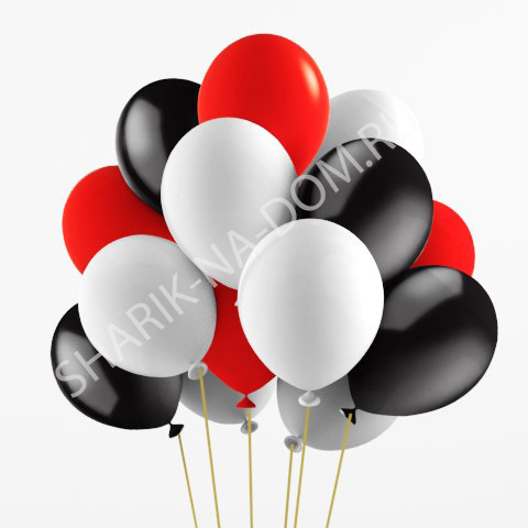 Облако из шаров Облако из бело-красных и черных шаров Облоко_из_белых__чёрных_и_красных_шаров.jpg
