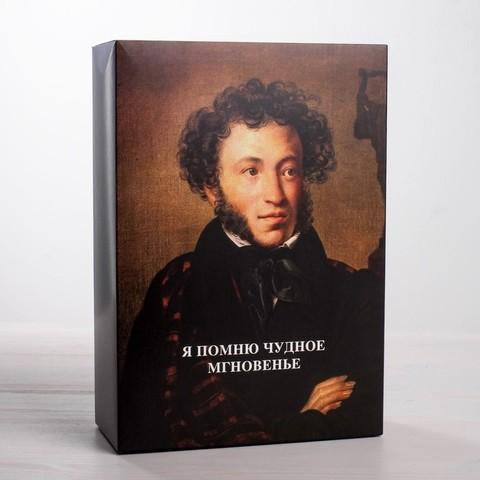 Коробка складная «Пушкин», 16х23х7.5 см