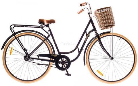 Универсальный городской велосипед Dorozhnik Retro с колесами 28 дюймов