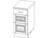 Стол кухонный ВЕРОНА с ящиками  400