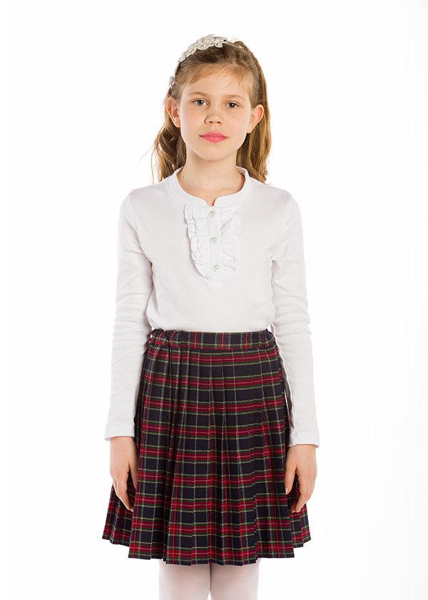 Трикотажная блузка для девочки