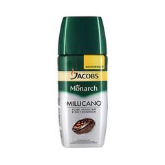 Кофе Jacobs Monarch Millicano раств.с молотым 95г стекло