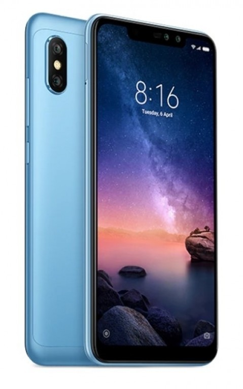 Xiaomi Redmi Note 6 Pro 4Gb/64Gb Blue (Global Version)