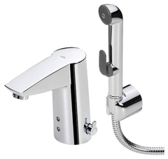 Смеситель для раковины с гигиеническим душем Oras Cubista 2826F фото