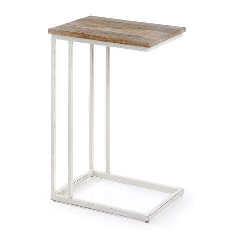 Приставной столик Shadow белый